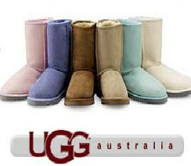 Ugg boots -- it's like wearing slippers all day