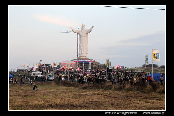 KING JESUS hill in Poland
