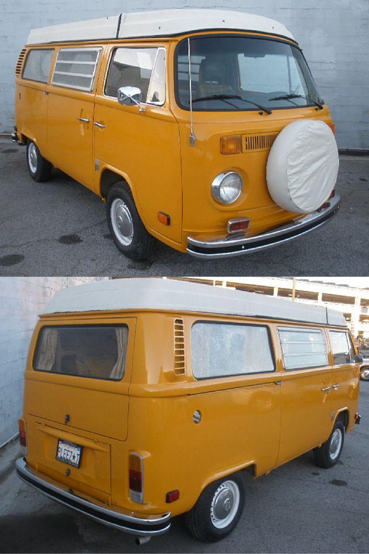 Westy 1975 vw combi van from california camper camping vw vwbus