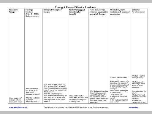 112 best CBT images on Pinterest | Anger management worksheets ...