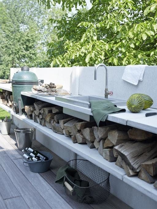 There's something so deeply satisfying about cooking outside — it feels a little bit like a vacation, a little bit like re-connecting with your caveman ancestors. And now that the season for grilling has finally come, everyone's thoughts are turning to the outdoors. If you're lucky enough to have a backyard, you may be considering one of the latest trends for the American home: an outdoor replica of your indoor kitchen. These outdoor kitchens come in all kinds of varieties, from elaborate…