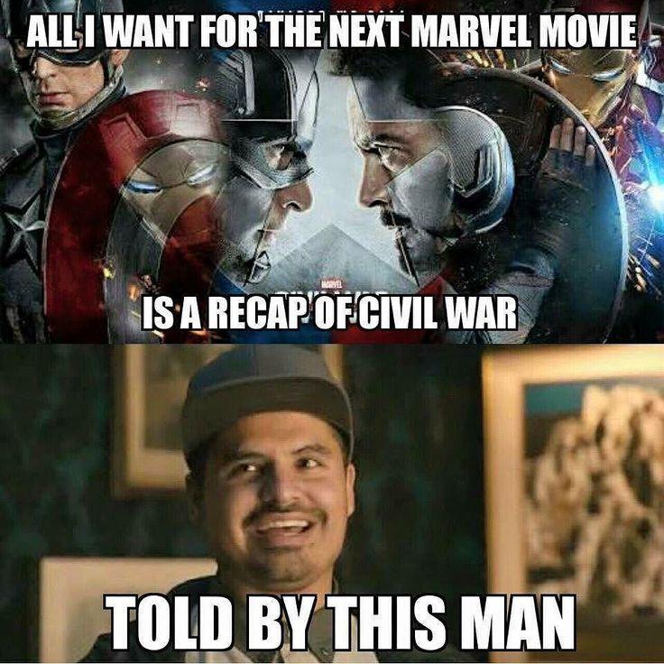 Yes. Ant-Man #MichaelPena