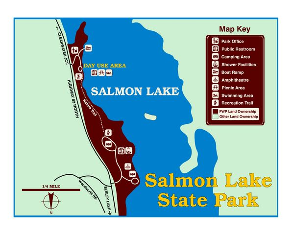 Salmon Lake State Park, Seeley Lake, MT