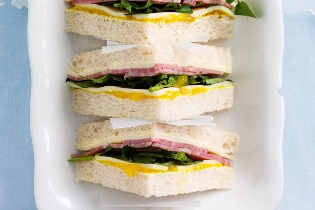 Whip up these delicious high tea sandwiches in super fast time to create an elegant afternoon tea.