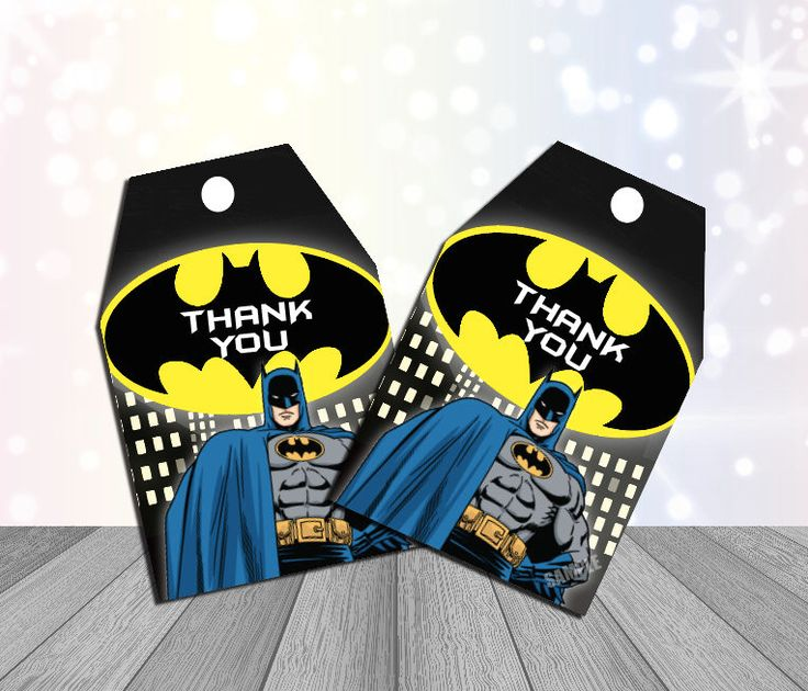 Batman party Supplies BatmanThank You Tags Batman party Favor by kidspartyprintco on Etsy https://www.etsy.com/listing/519808111/batman-party-supplies-batmanthank-you
