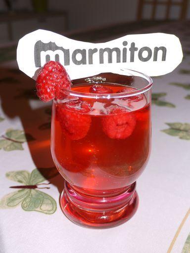 Coupe champenoise à la framboise (apéritif) : Recette de Coupe champenoise à la framboise (apéritif) - Marmiton