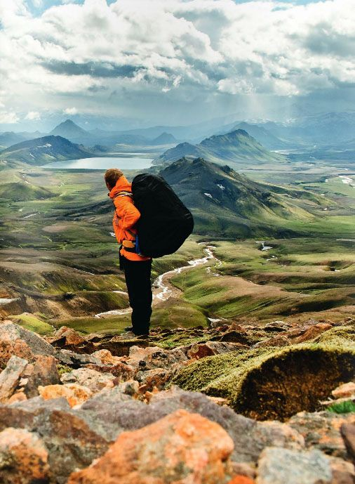 Hiking in Iceland #travel