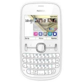 Nokia Asha 201 White @ Rs. 3,649