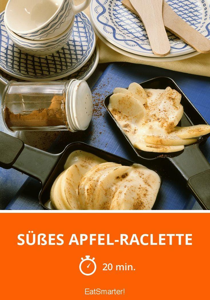 Süßes Apfel-Raclette - smarter - Zeit: 20 Min. | eatsmarter.de