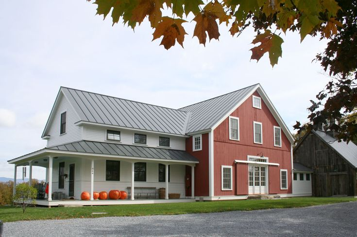 14 best new england farm houses images on pinterest new for Vermont farmhouse plans