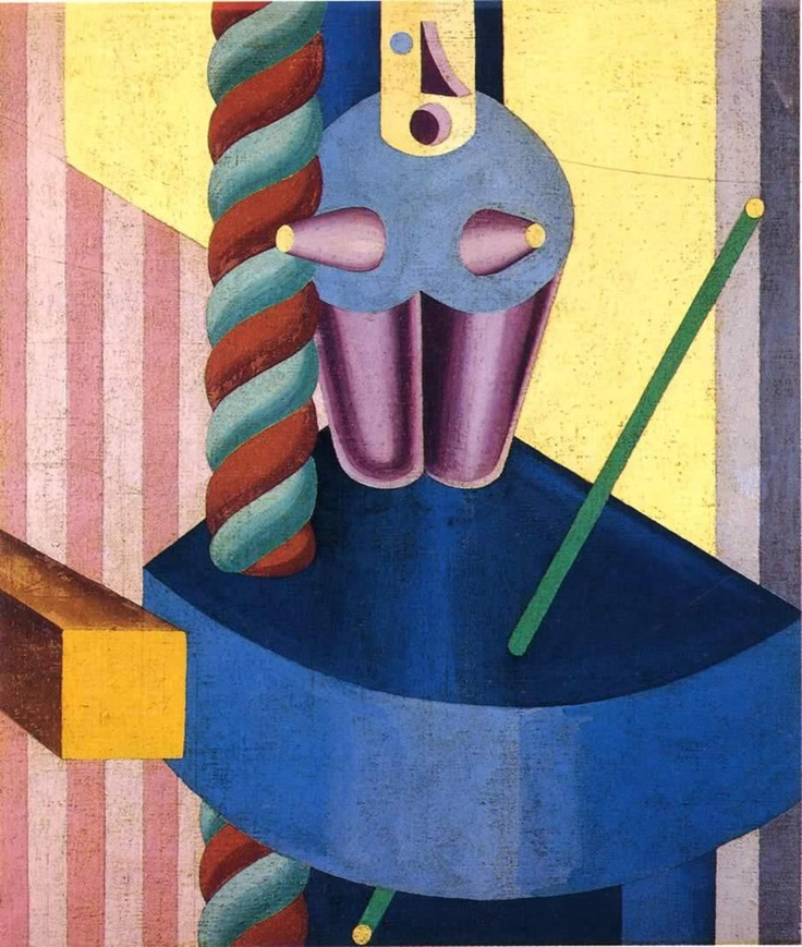 Fortunato Depero - Body Robot (1917)