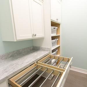 Drying Rack, Transitional, laundry room, Rautmann Custom Homes
