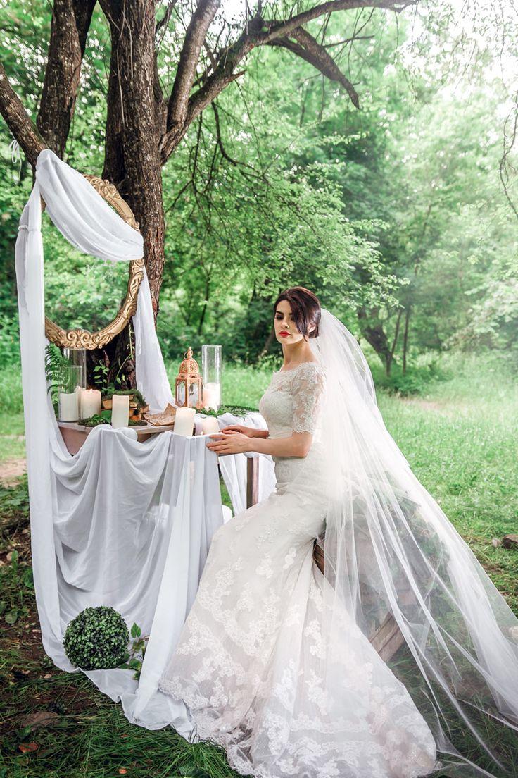 Утро невесты в лесу | Статьи о свадьбе | www.wedcake.ru - свадьба в Санкт-Петербурге