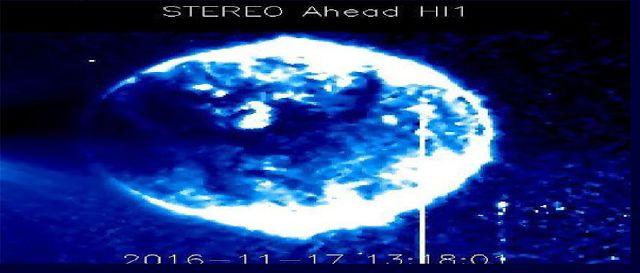 AWAKENING FOR ALL: Viral NASA Photographs Show Mysterious Blue Sphere...