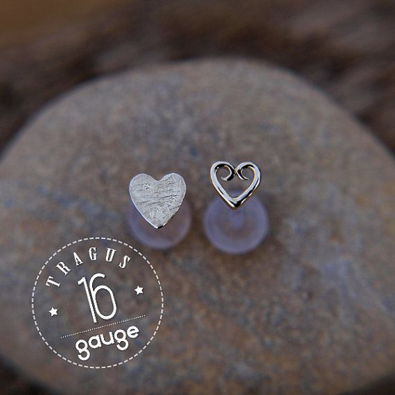 Hey, I found this really awesome Etsy listing at https://www.etsy.com/listing/183623649/hearts-tragus-set-sterling-silver-labret