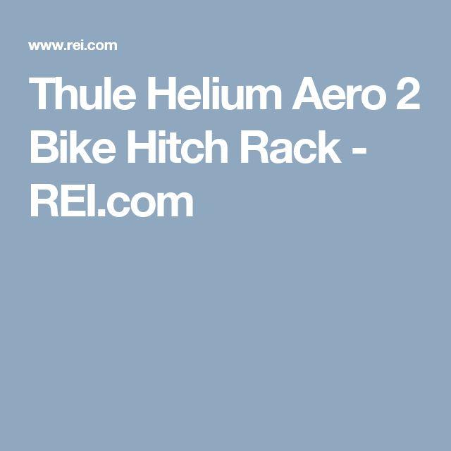 Thule Helium Aero 2 Bike Hitch Rack - REI.com