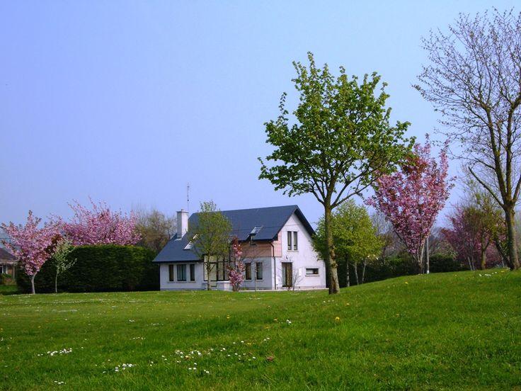 a nice house with a garden