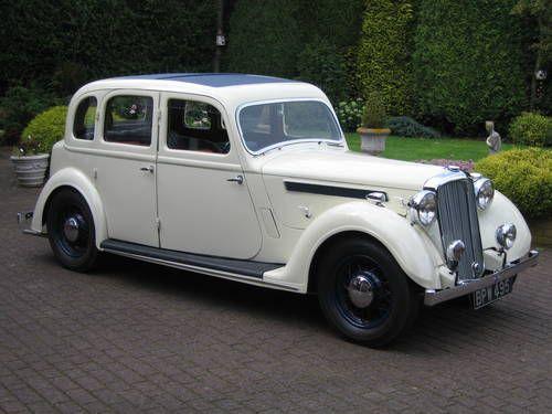 Rover P2 16/6 Light Saloon 1937.