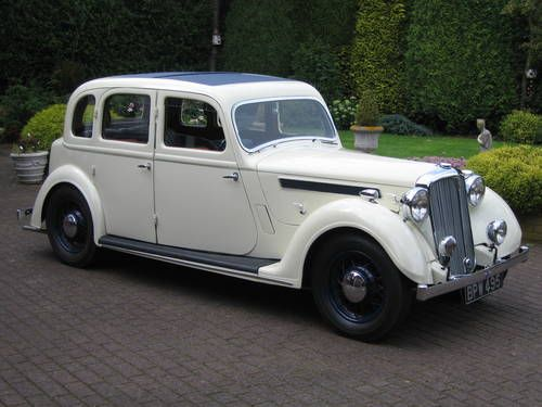 Rover P2 16/6 Light Saloon 1937.