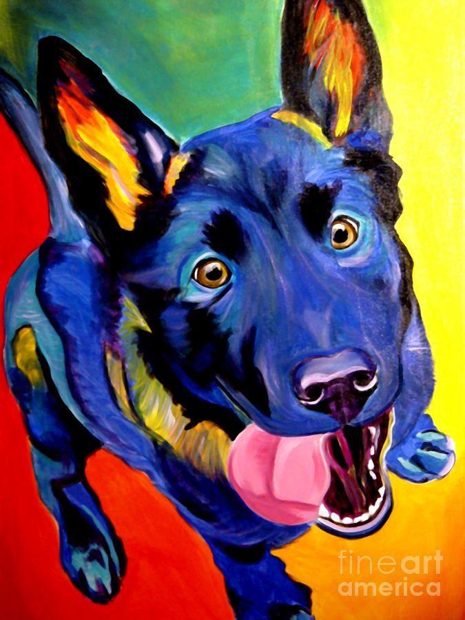 Image result for equine clinic decor art Pintura perro