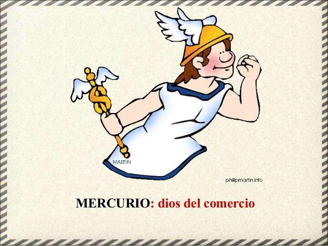 Mercurio Dios Del Comercio Jairo Grecia Antigua Grecia
