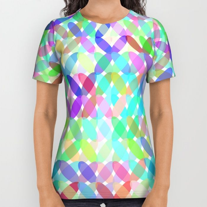 Crossing Colours All Over Print Shirt by Mirimo   Society6