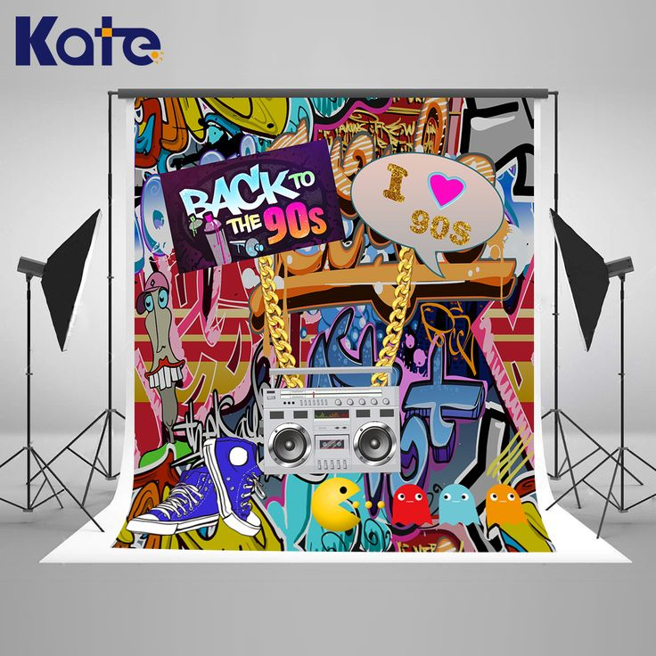 Find More Background Information about Kate Graffiti Wall Birthday Photo Background 10ft 90'S Hip Pop Background For Photos With Recorder Photoshoot Background,High Quality Background from Marry wang on Aliexpress.com
