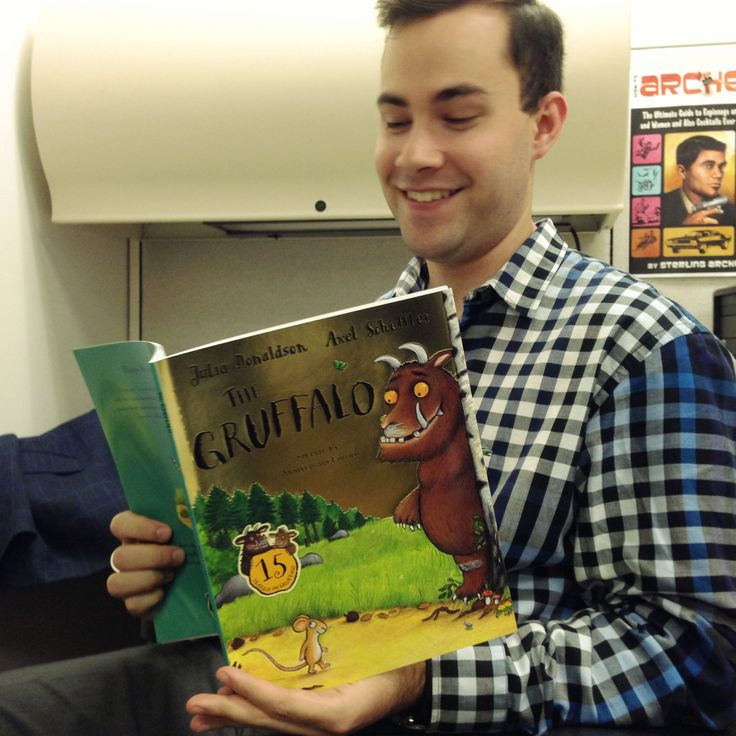 Derek is thankful for The Gruffalo, because he helped to keep the evil monsters at bay. Celebrate the Gruffalo's 15th anniversary with your kids this fall!  #ThankYouKidsLit