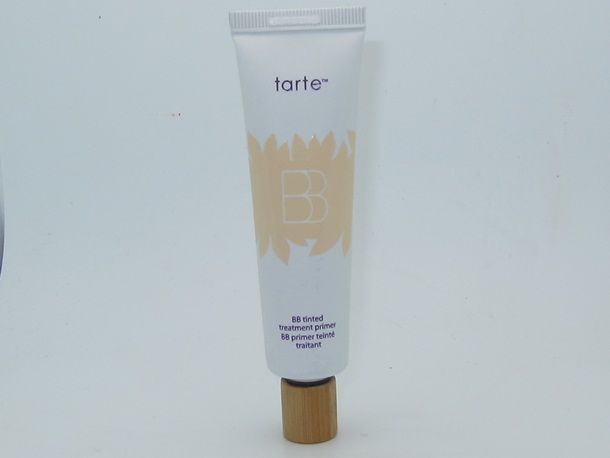 Tarte BB Tinted Treatment Primer Review --try this b/c its made w/o parabens but it might not have as much coverage as other BB's, acts more like a tinted primer? (Sephora gals confirmed it has very little tint/coverage)