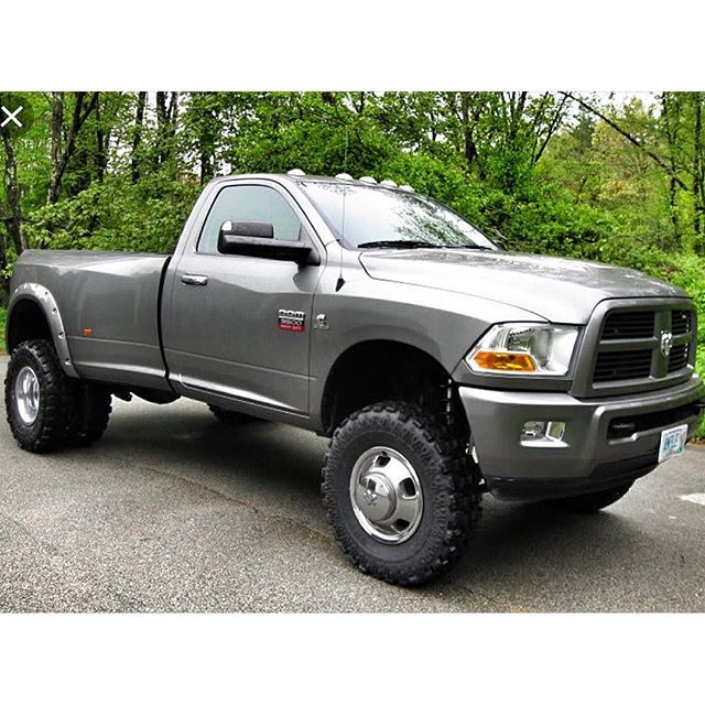 2010 Dodge Ram 2500 Regular Cab Exterior: #mulpix Reg Cab Dually Short Bed Anyone? #2010 #ram #3500
