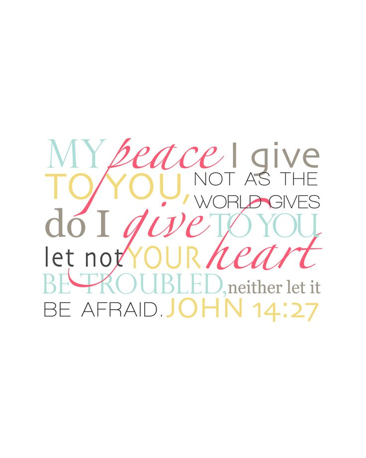 Lds Quotes On Peace: The 25+ Best John 14 27 Ideas On Pinterest