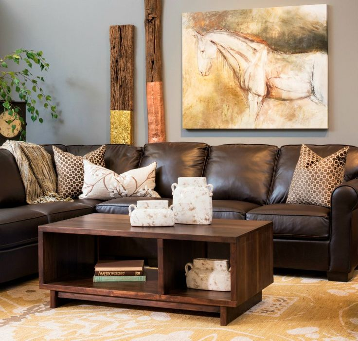 living room ideas with leather furniture%0A   Great Reasons to Decorate With Leather