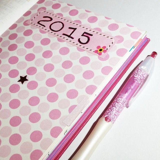 Agenda planificadora 2015. Planner