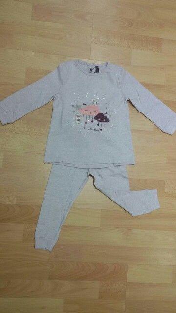 Pijama algodón fino niña