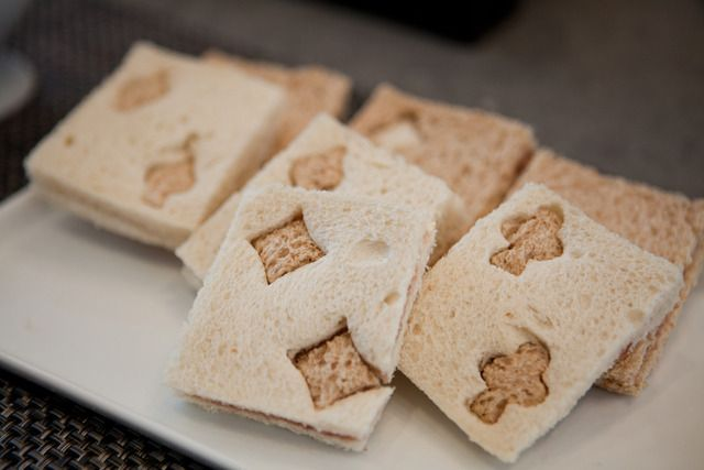 Great sandwiches for an Alice in Wonderland Tea Party