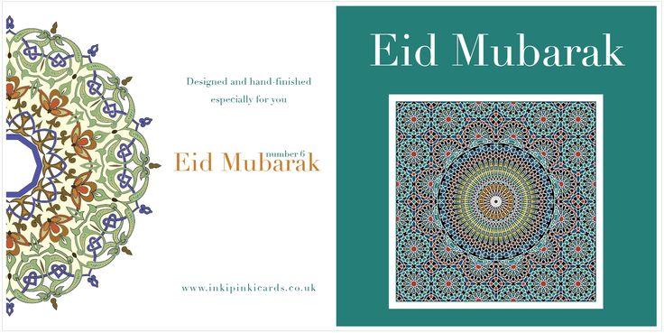 Eid Mubarak design theme based on Islamic geometric patterns