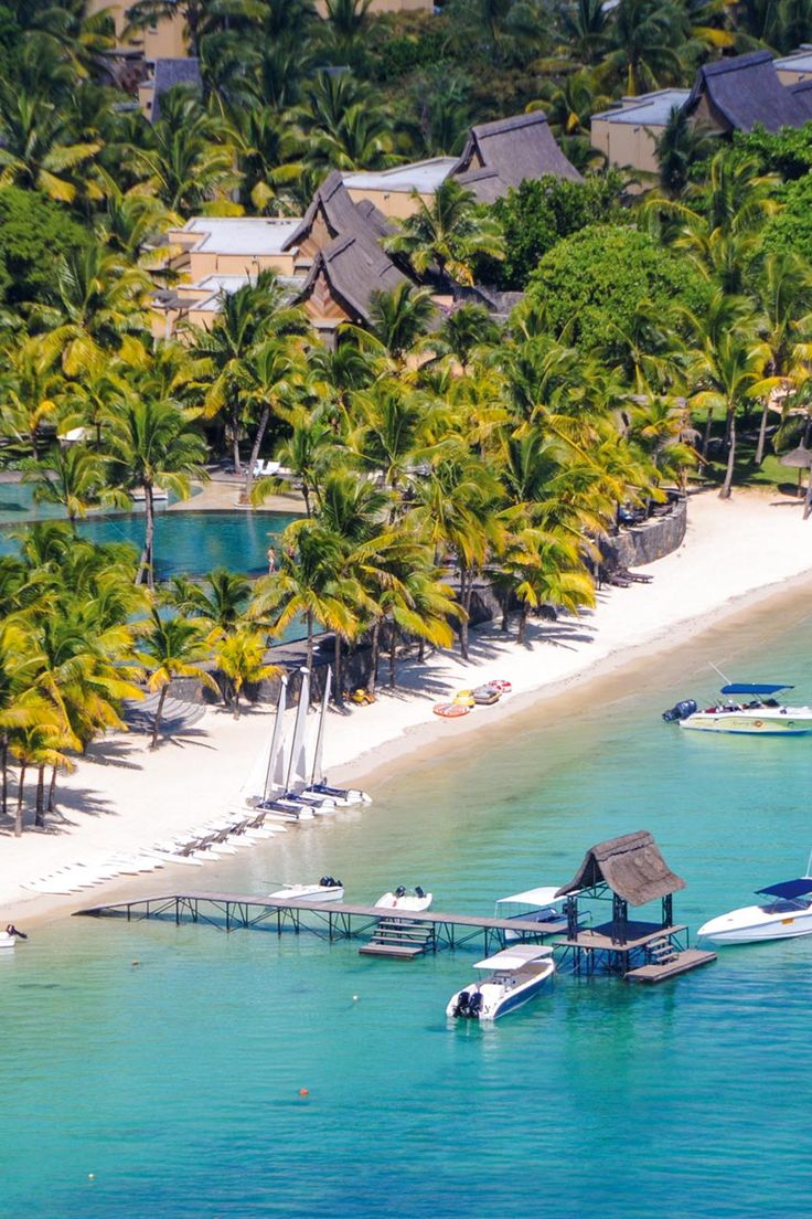Overview of Mauritius resort - Trou Aux Biches