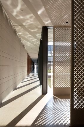 The Lalu Hotel Interior, Qingdao (China) by Kerry Hill Architects.