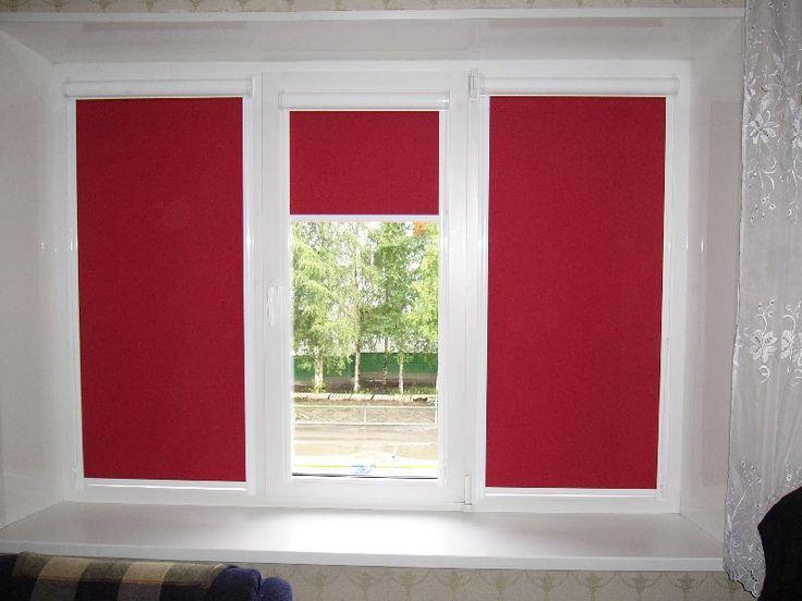 Стильная одежда для пластиковых окон #blinds #rollershades #window #interior #спальня #шторы #жалюзи #декорокна #рулонныежалюзи
