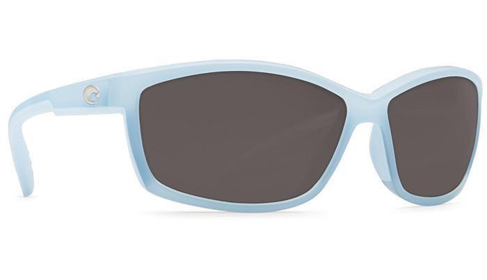 Manta Matte Ocean Sunglasses with Gray 580P Lenses by Costa Del Mar