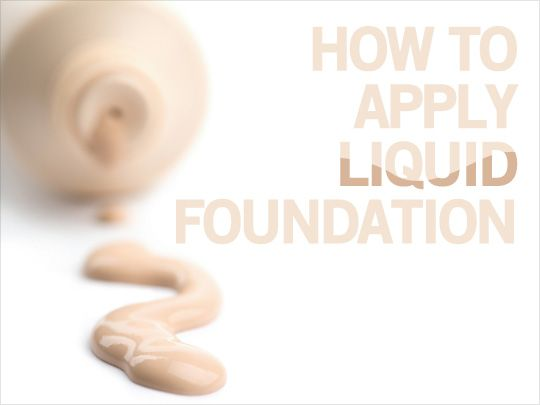 Step-by-step on how you can apply liquid foundation for a flawless finish...