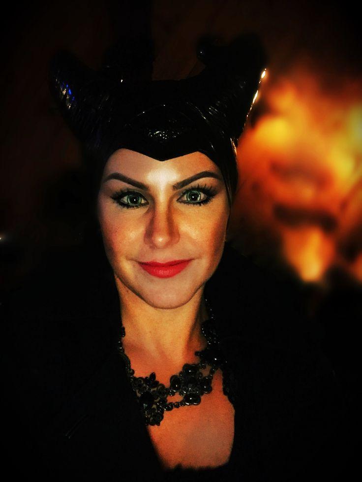 Malifecent , costume , Halloween , makeup