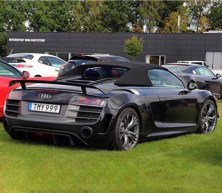 #1of333 - Where are the fans of Audi R8 GT Spyder? Only 333 were sold worldwide Still looks like a winner -- #Audi #R8Spyder in #Sweden pic @everydayracing ---- oooo #audidriven - what else ---- #AudiR8 #R8GT #R8GTSpyder #R8 #Spyder #quattro #4rings #AudiSport #drivenbyvorsprung #audirsperformance #carsbyaudisport #R8color #blackR8 #blackR8spyder #audisweden
