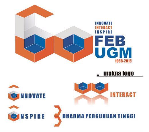 Pemenang Lomba Desain Logo Dies Natalis Ke-60 FEB UGM - Fakultas Ekonomika dan Bisnis Universitas Gadjah Mada