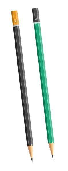 HB Pencils PNG Clipart Image
