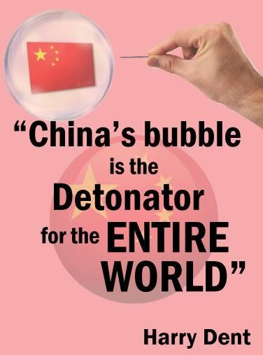 The greatest trigger of a global collapse is the bursting of the massive, unprecedented China bubble. We face a home-based crisis bigger than the subprime debacle or anything that came before it! https://research.economyandmarkets.com/X195R720