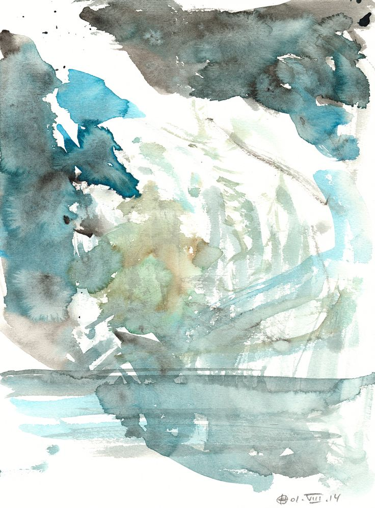 Plötzensee #2 (Berlin) Watercolour on paper | 31x23 cm | 2014 | OCH-A-14-