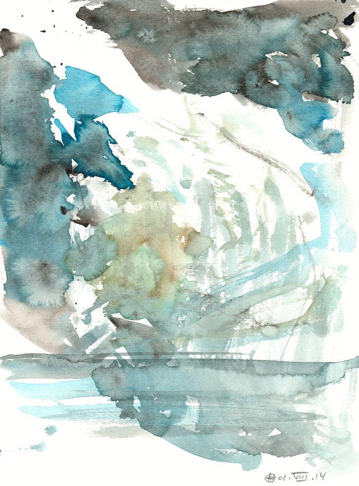 Plötzensee #2 (Berlin) Watercolour on paper   31x23 cm   2014   OCH-A-14-