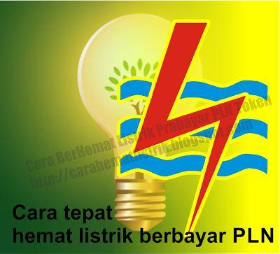 hemat listrik: Cara tepat hemat listrik berbayar PLN
