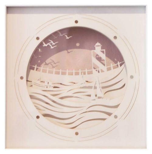 Artymiss   'The Porthole'   Lazer-Cut Paper